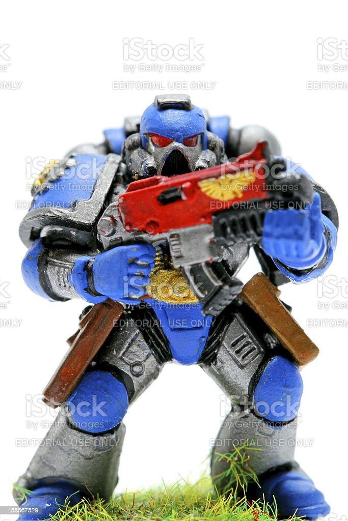 Toy Terror stock photo