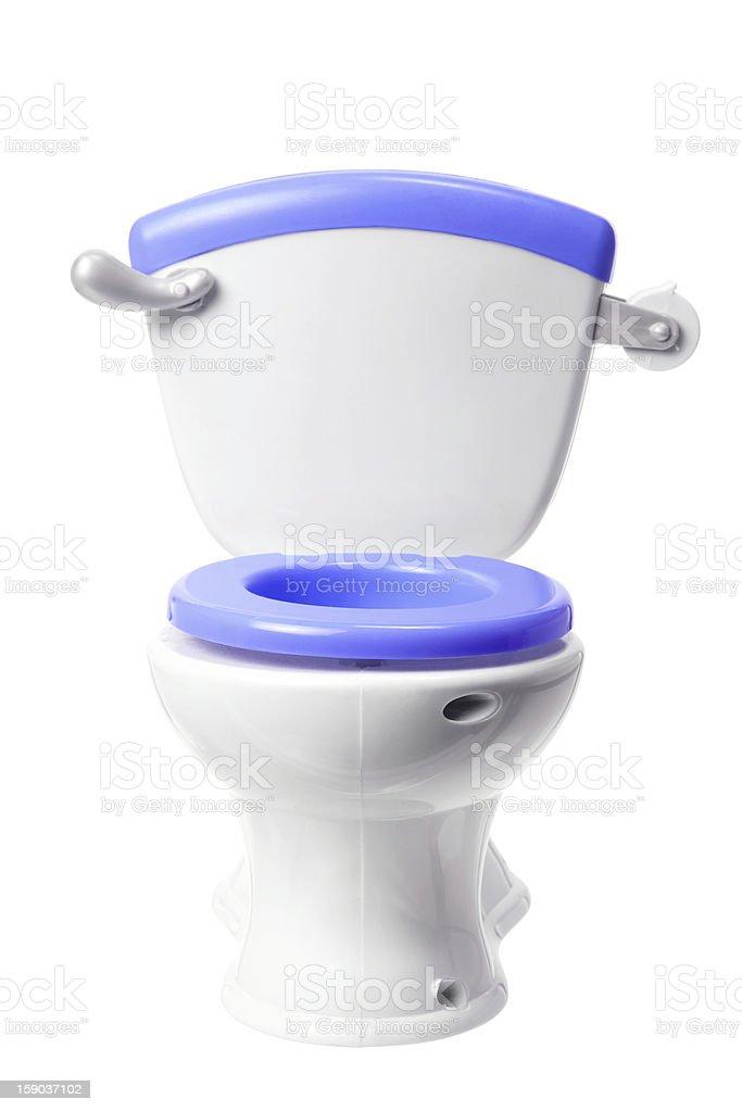 Toy Toilet Bowl stock photo
