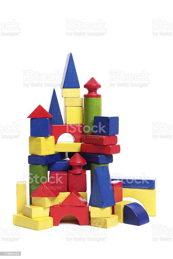 Toy Town royalty-free stock photo