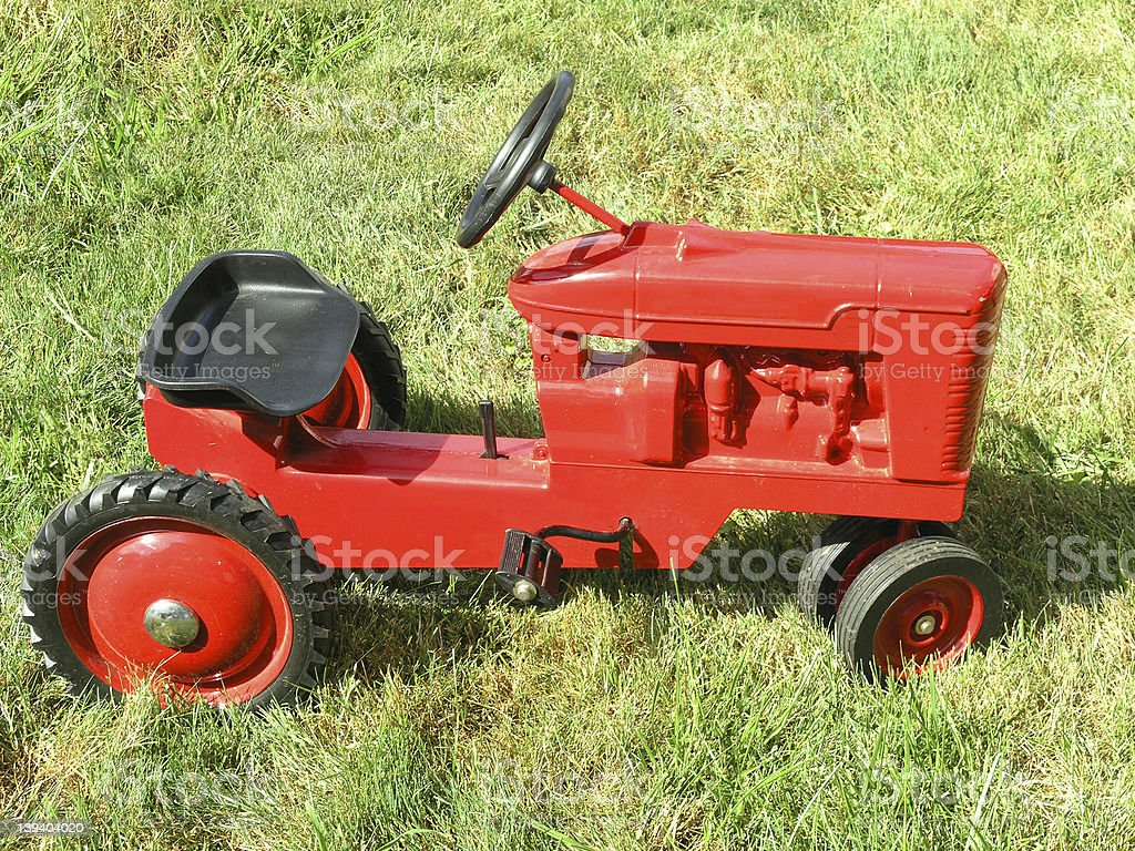 toy tractor royalty-free stock photo