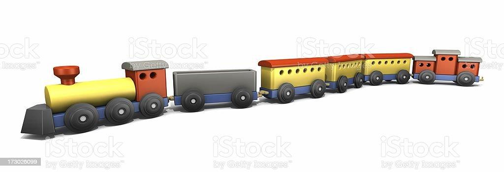 おもちゃの列車 ロイヤリティフリーストックフォト