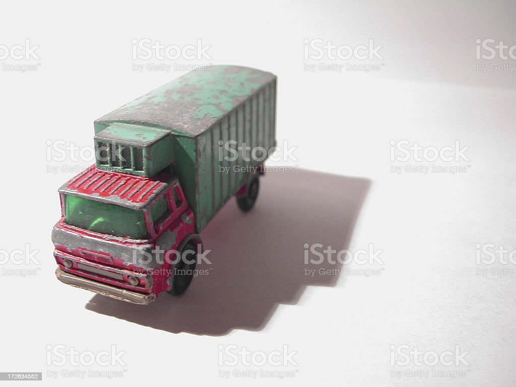 Toy Truck royalty-free stock photo