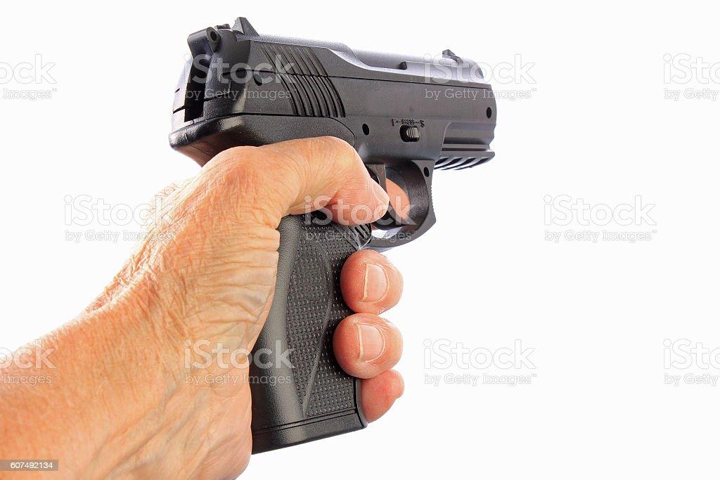 Toy Weapon stock photo