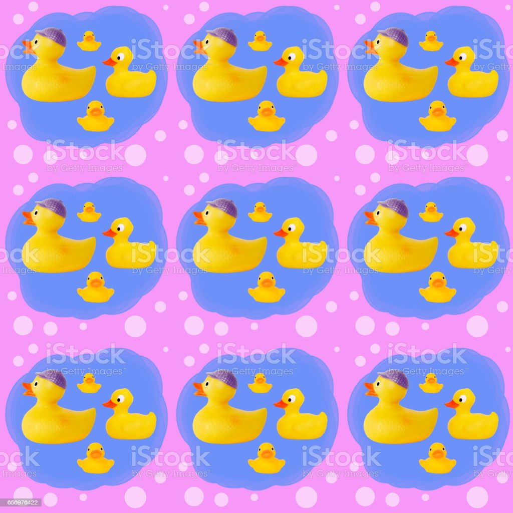 toy yellow rubber duck stock photo