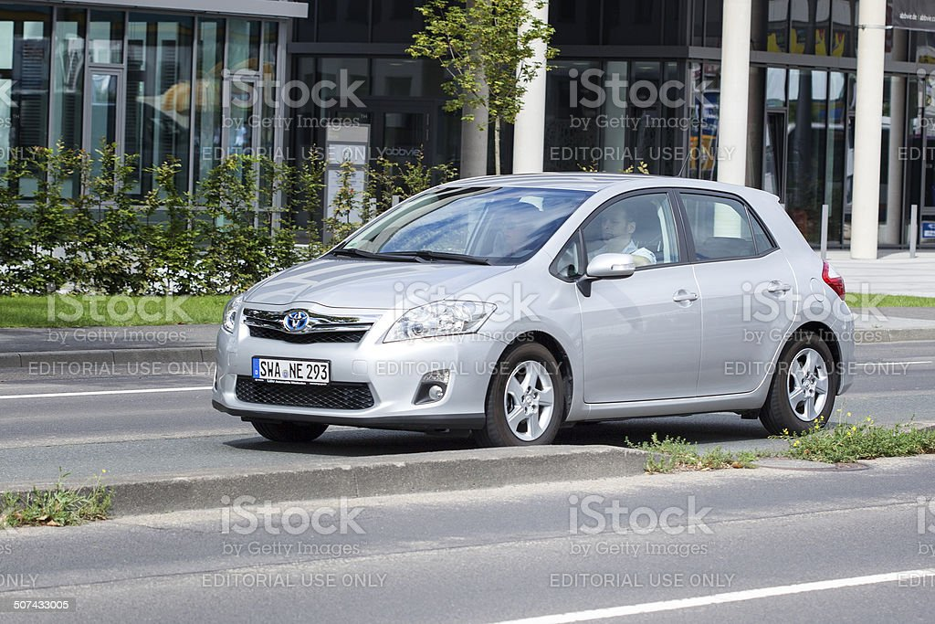Toyota Auris royalty-free stock photo