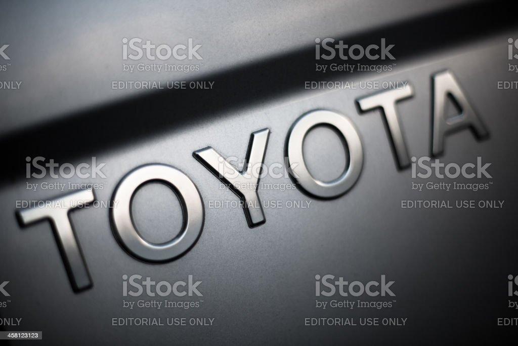 Toyota Car Logo stock photo