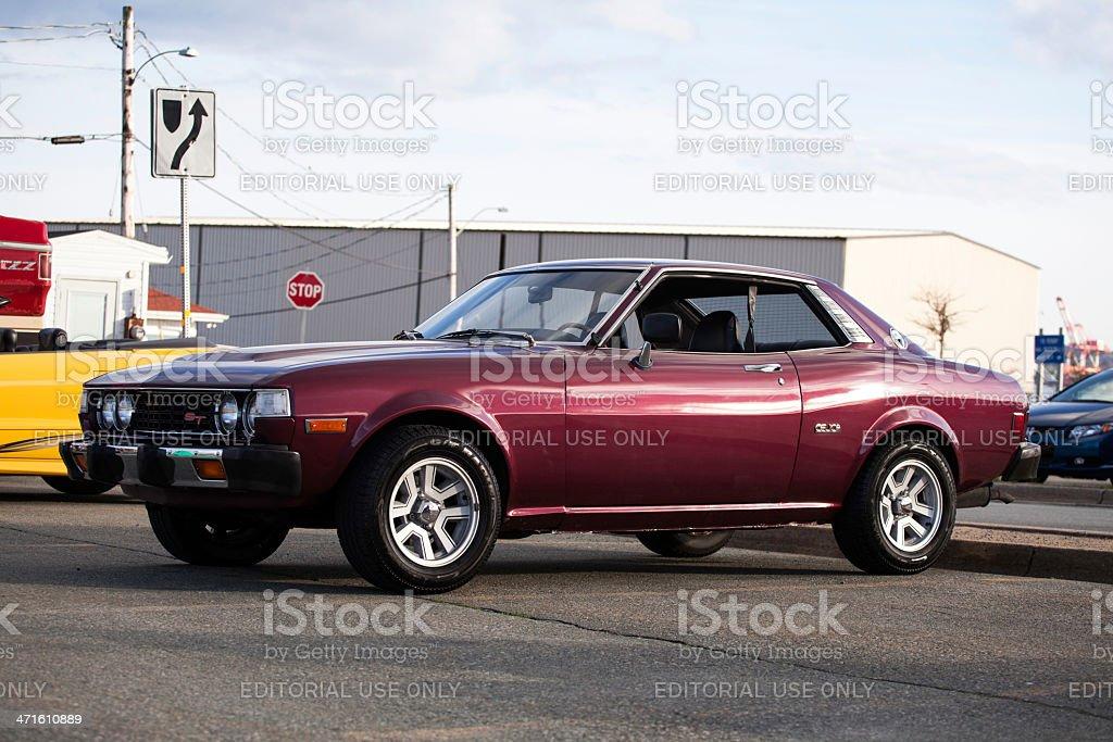 Toyota Celica ST royalty-free stock photo