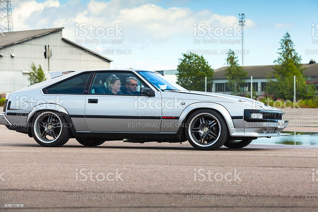 Toyota Celica Supra 2.8 MA61 stock photo