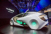Toyota Concept Car at CES 2017