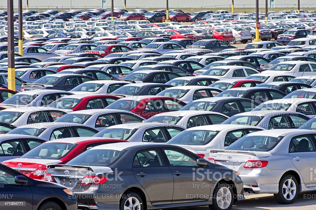 Toyota Corolla Assembly Plant stock photo