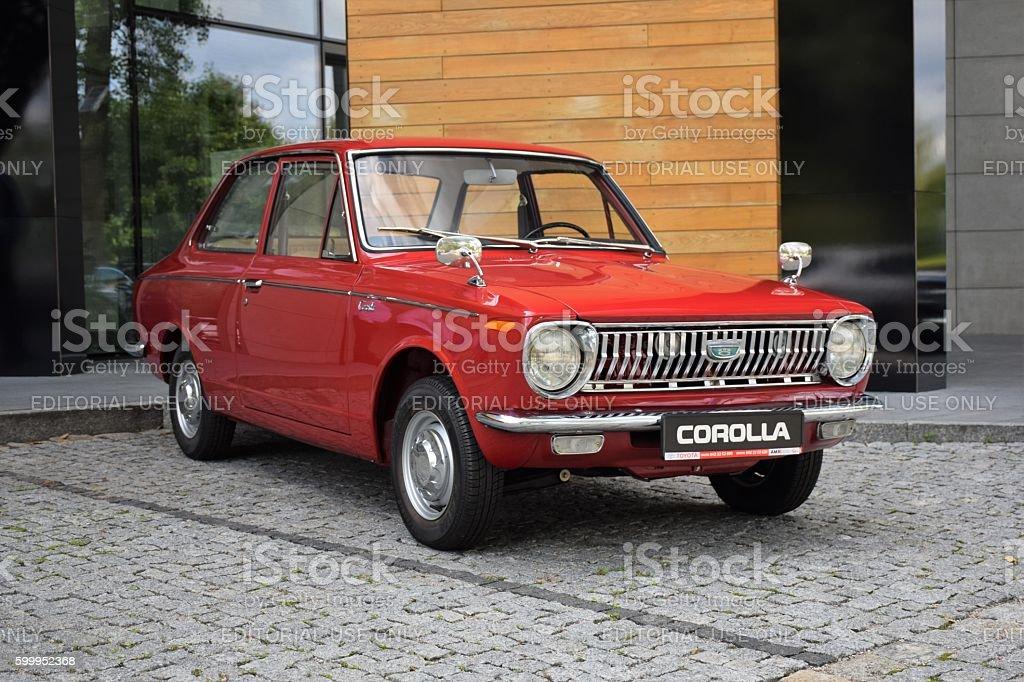 Toyota Corolla - first generation stock photo