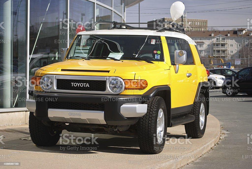 2012 Toyota FJ Cruiser stock photo