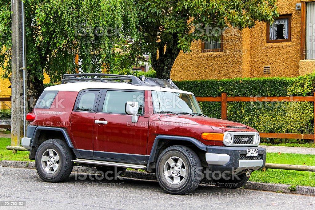 Toyota FJ Cruiser stock photo