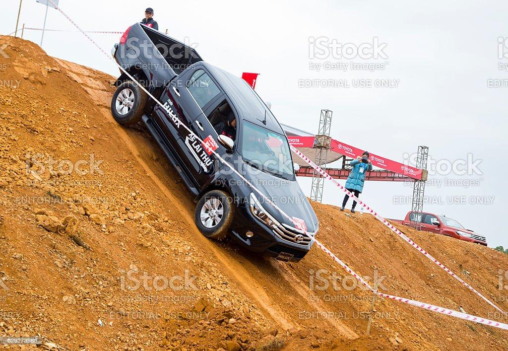 Toyota Hilux 2016 car stock photo