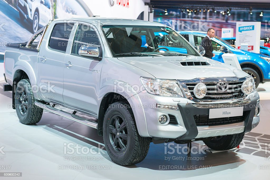 Toyota Hilux pick-up truck stock photo