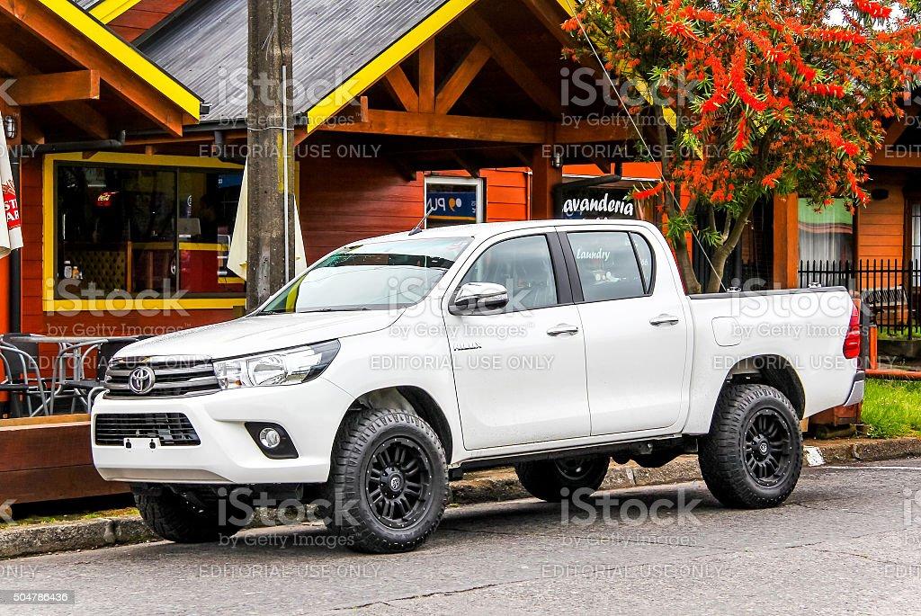 Toyota Hilux stock photo