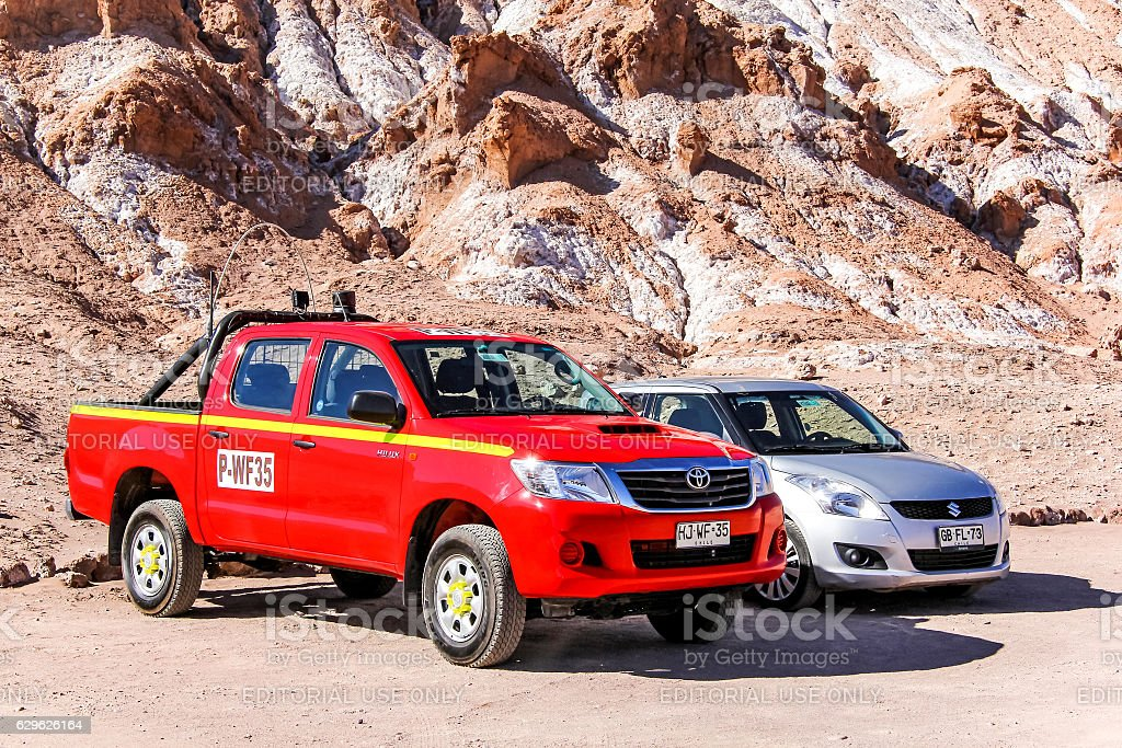Toyota Hilux stock photo