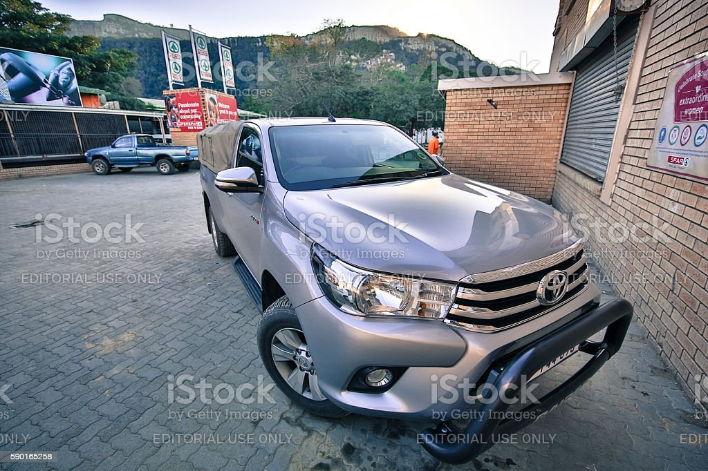 Toyota Hilux W10 stock photo