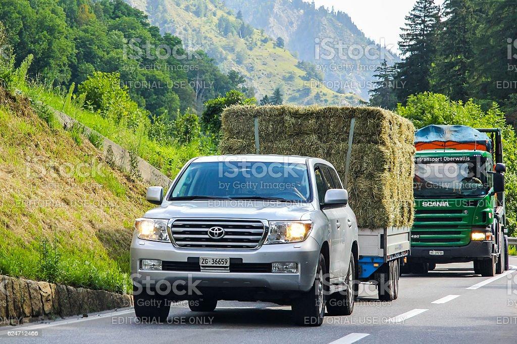 Toyota Land Cruiser 200 stock photo