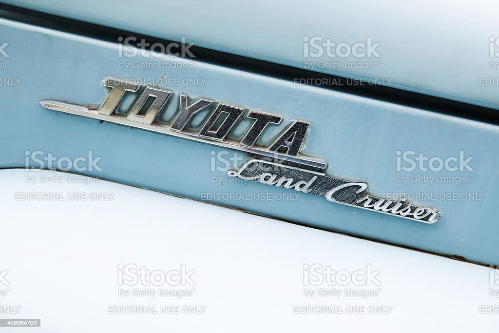 Toyota Land Cruiser royalty-free stock photo