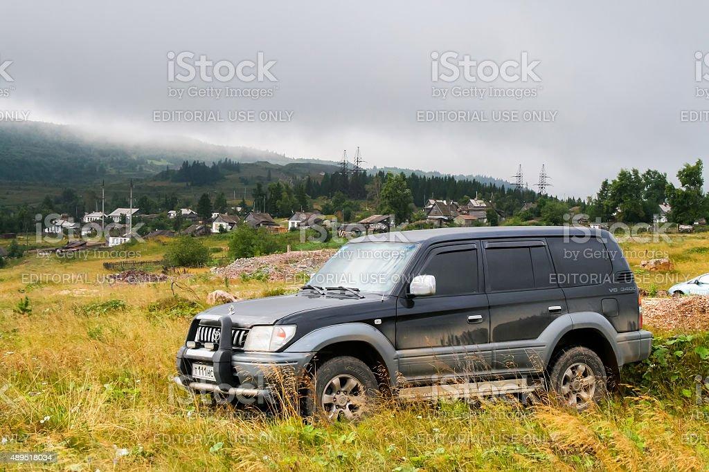 Toyota Land Cruiser Prado 90 stock photo