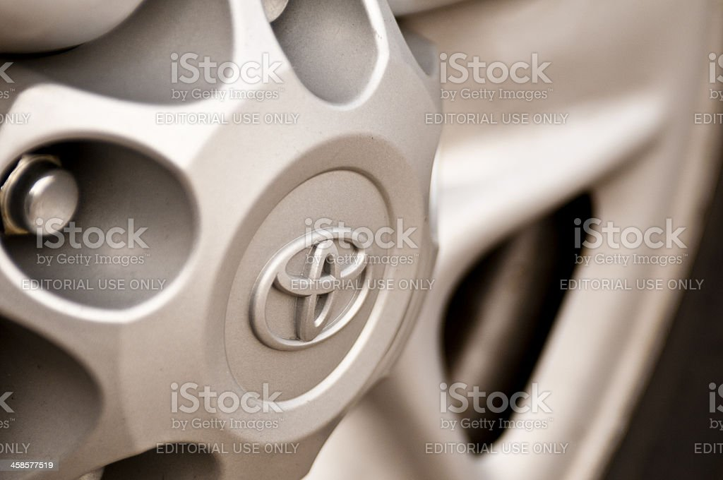 Toyota Logo royalty-free stock photo