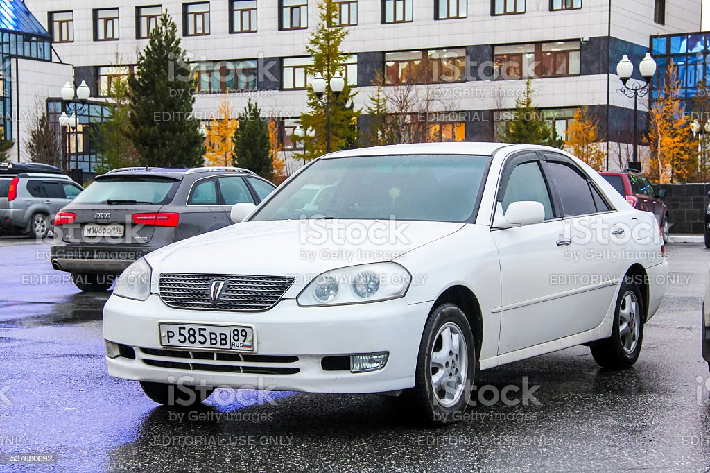 Toyota Mark II stock photo