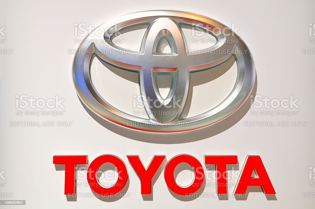Toyota royalty-free stock photo