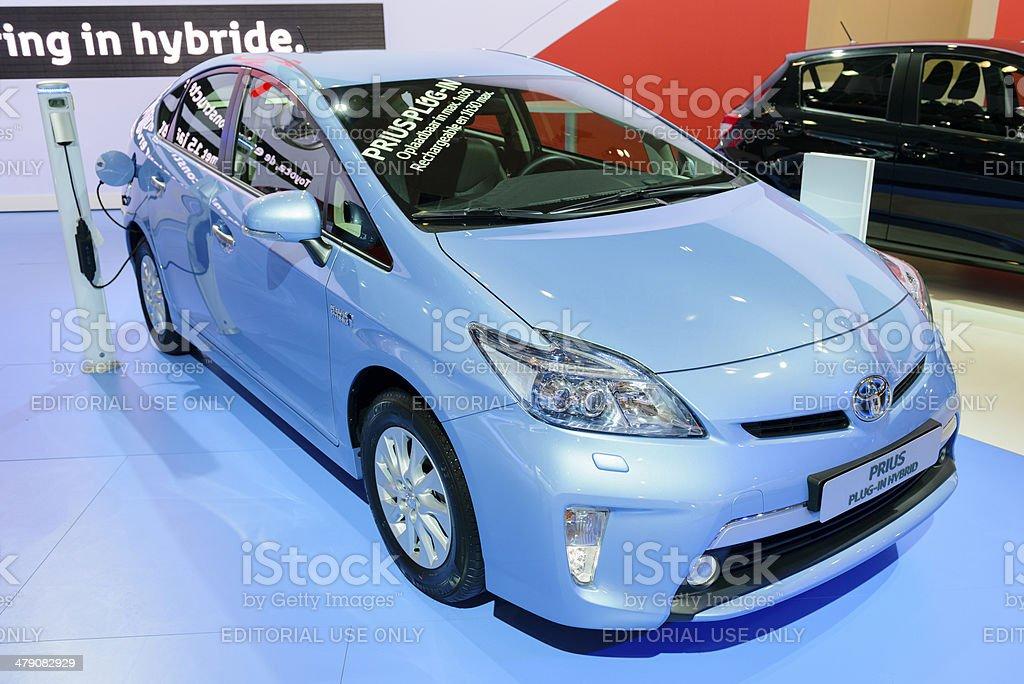 Toyota Prius royalty-free stock photo