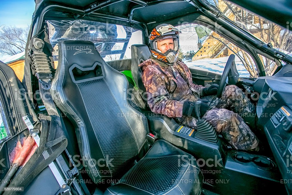 Omsk, Russia - November 13, 2015: toyota test-drive stock photo