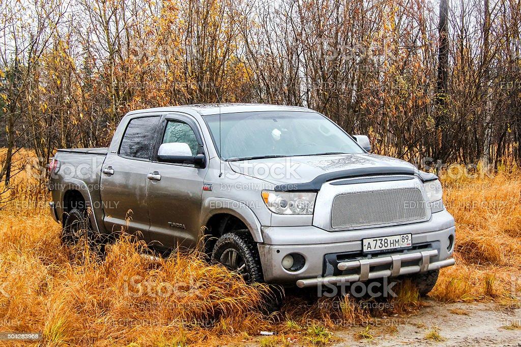 Toyota Tundra stock photo