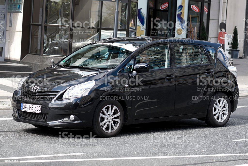 Toyota Verso stock photo