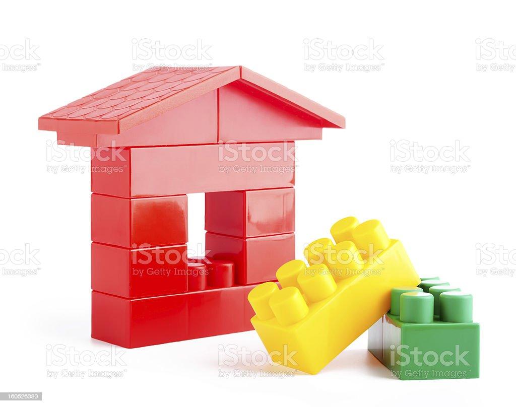 Toys blocks. royalty-free stock photo
