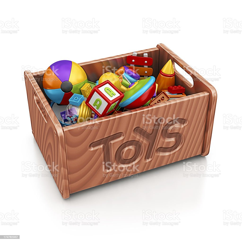 toys box stock photo