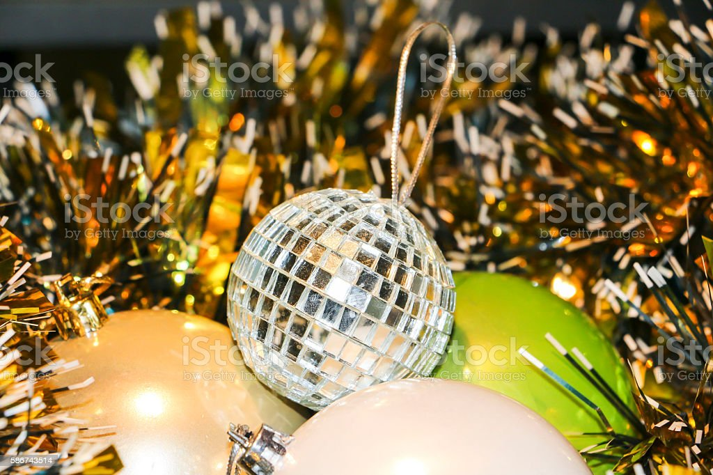 Toys for Christmas and the New year stock photo