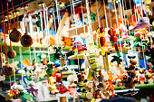 Toys for sale at Christmas market in Cologne, Germany