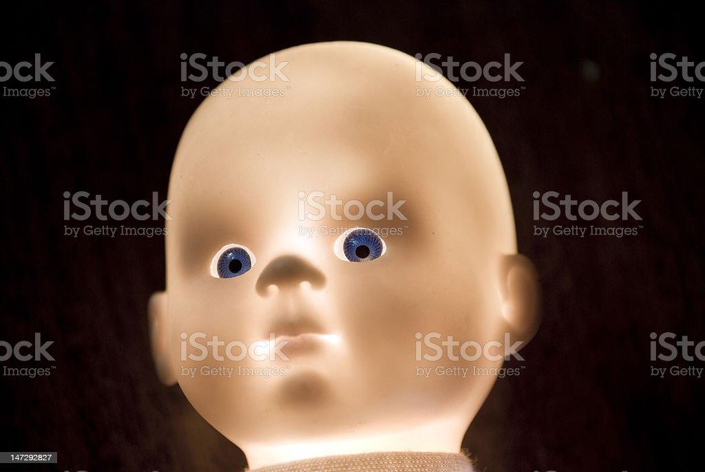 Toy's head royalty-free stock photo
