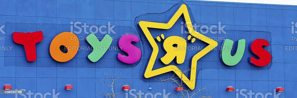 "Toys ""R"" Us royalty-free stock photo"