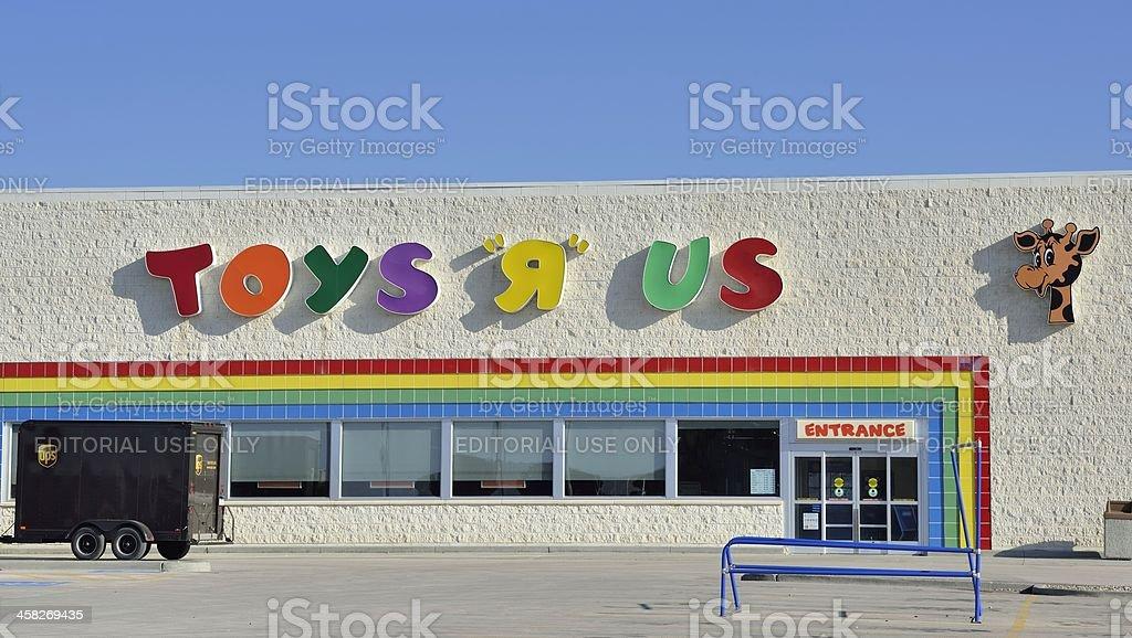 Toys R Us royalty-free stock photo