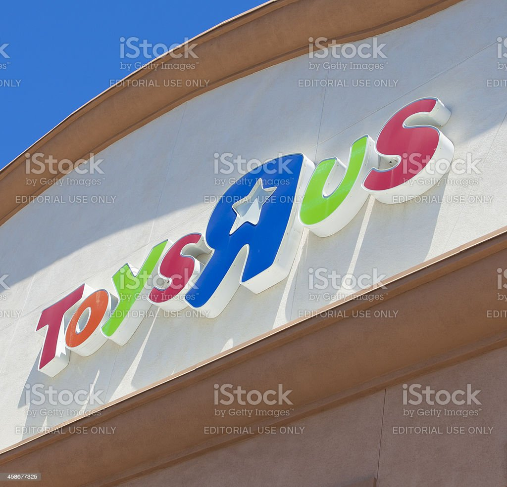 Toys R Us royalty-free stock photo