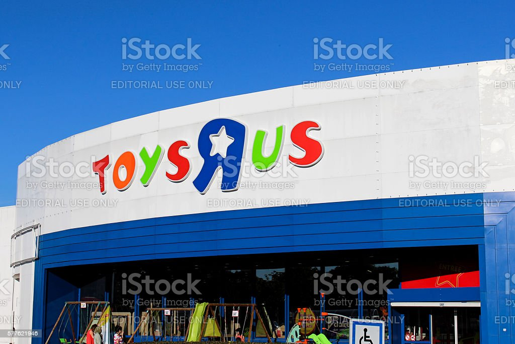 Toys 'R' Us store stock photo