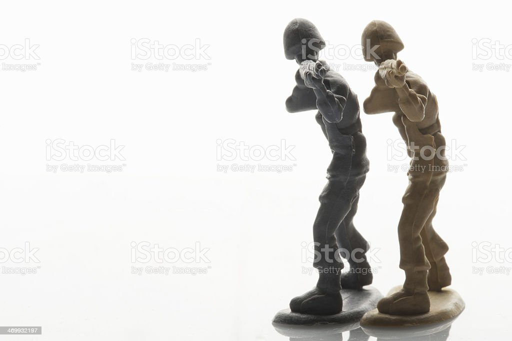 Toys Soldier stock photo