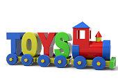 Toys Train - 3D