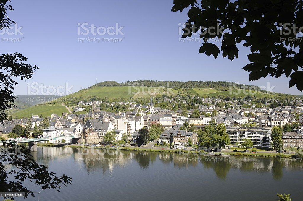 Traben-Trarbach, Moselle, Germany stock photo