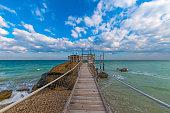 Trabocchi Coast in the Abruzzo region (Italy)