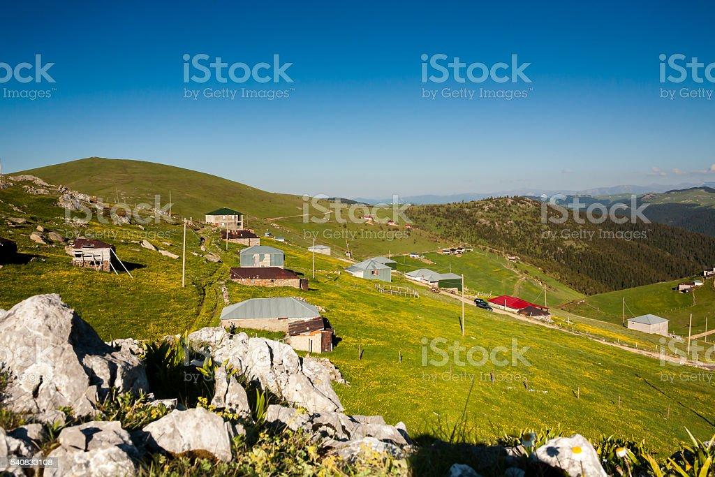 Trabzon Plateau stock photo