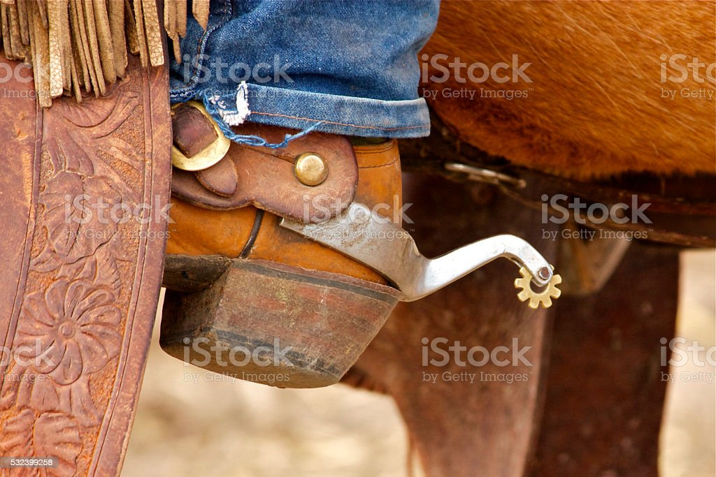 Spur stock photo