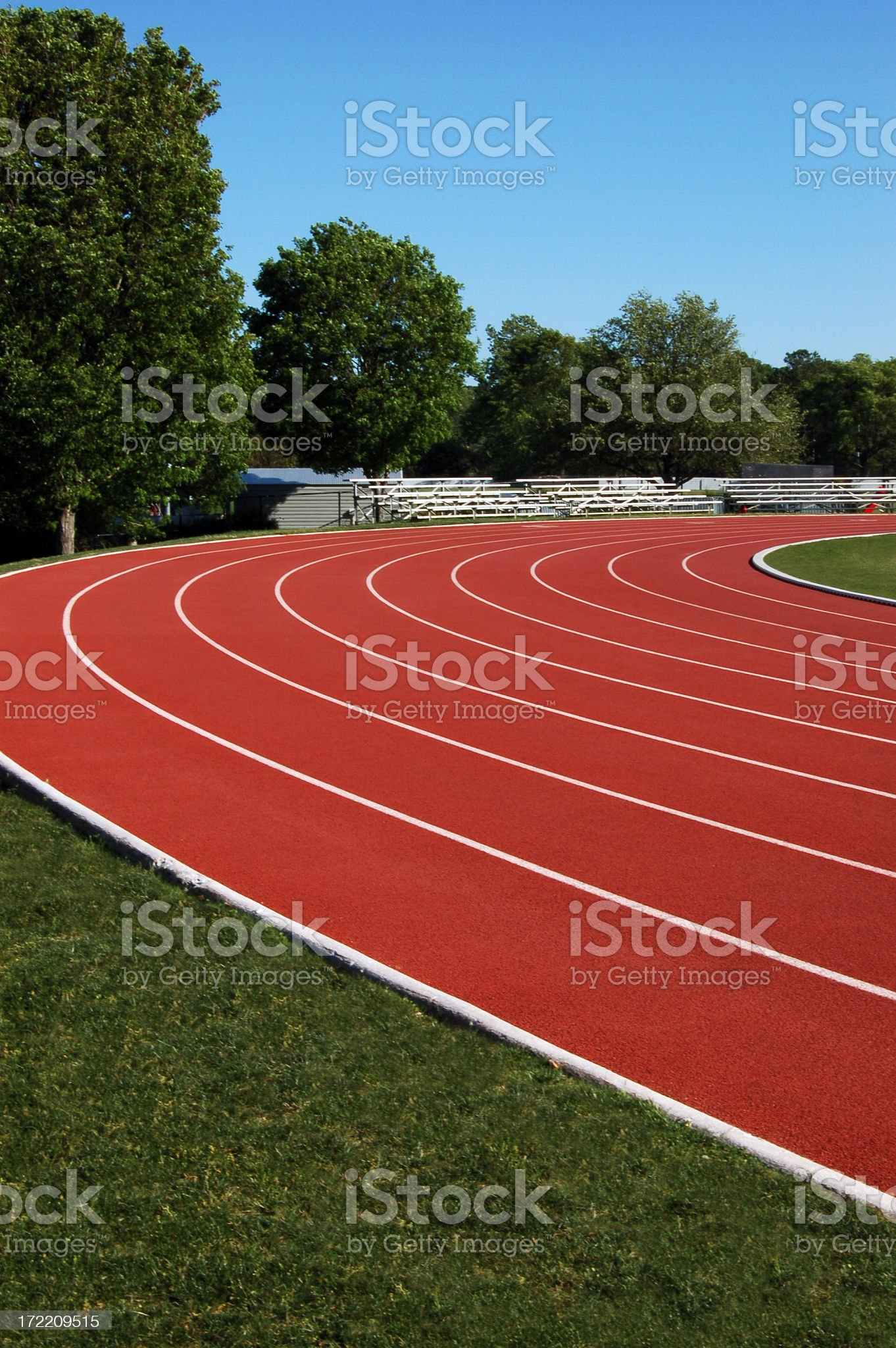 track and field royalty-free stock photo