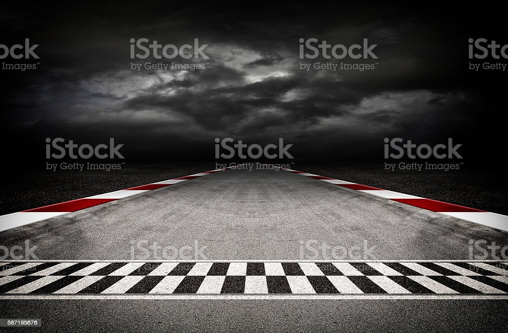 Track arena 3d stock photo