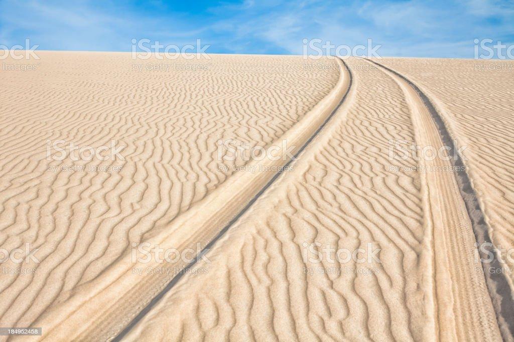 Track dune backgrounds stock photo